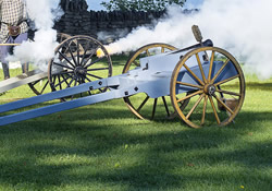 Cannon Firing and Arms Demonstrations